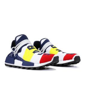 fb3030e2231 Pharrell Williams Hu Multicolor Adidas Hombre - Tenis Hombres de ...