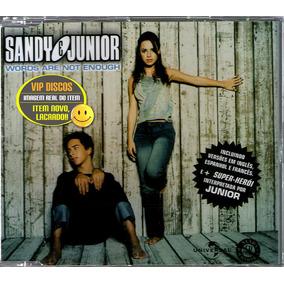 Sandy & Junior Cd Single Words Are Not Enought 4 Versões