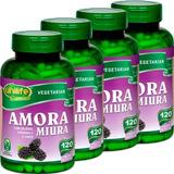 4x Amora Miura 120 Cáps - Alívio Tpm Menopausa - Unilife