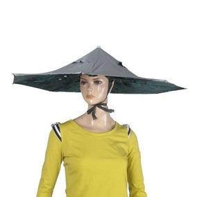 Deportes Al Aire Libre Plegable Paraguas Sombrero De La Pesc 36c95f51132
