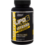 Lipo 6 Black Intense (60 Cápsulas) Termogênico - Nutrex