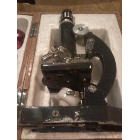 Microscopio Usado Anos 60.