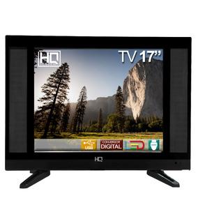 Tv 17 Polegadas Hq Led Conv. Digital Hqtv17