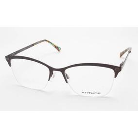 81a19c4385e58 Oculos Atitude Feminino Gatinha De Grau Outras Marcas - Óculos no ...