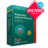 Licencia Kaspersky Internet Security 2018 1 Pc 1año Original
