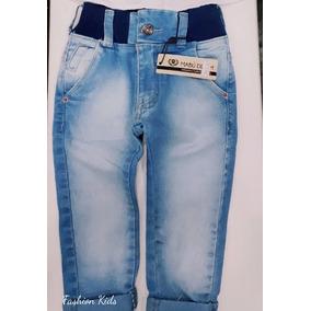 f15e3adf6 Calça Jeans Infantil Menino Bebê Estilosa 1 2 3