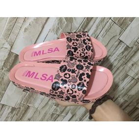 Melissa Beach Slide Tendência Mickey E Minnie Nova 2019