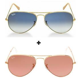 Oculos Ray Ban Feminino Rosa - Calçados, Roupas e Bolsas no Mercado ... 579bf2d9ad