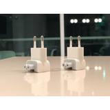 2 Conectores Enchufe Eu Adaptador/cargador Computador Apple