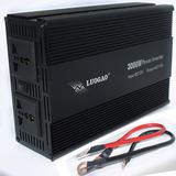 Inversor Transformador 3000w 12v Conversor Veicular 110v