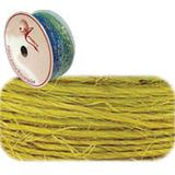 5 Sisal Simples 10m.amarelo Aramex Rolo