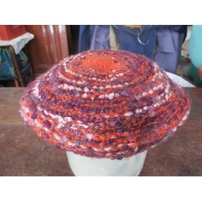 b15ecc4191eb3 Boinas Tejidas Al Crochet - Ropa y Accesorios en Mercado Libre Argentina
