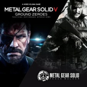 Metal Gear Solid V: Ground Zeroes + Mgs Peace Walker Ps3