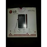 Celular Lg Kp570q Completo Y Liberado + Memoria De 1gb