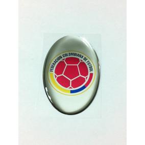 8b6bdc6cc0 Adesivo Resinado Do Escudo Da Seleção Da Colômbia De Futebol · R  19 58
