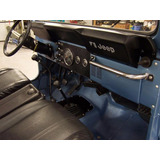 Tablero Jeep Willys Tapicería Cj5 Cj6 Cj7 Campero Repuesto