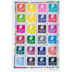 Tinta Para Sellos X 24 Colores. Árbol De La Vida !!