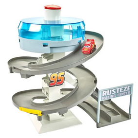 Mini Pista De Corrida Em Espiral Disney Carros Mattel