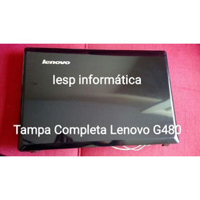 Tampa + Moldura Lenovo G480