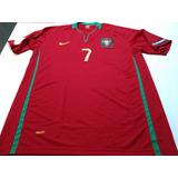 1ff21b1e3c Camisa Portugal Euro 2008 no Mercado Livre Brasil