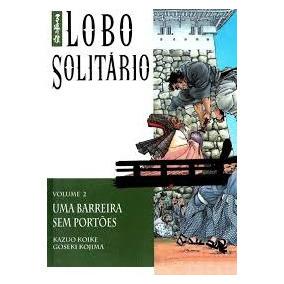 Manga Lobo Solitário Volume 2 Uma Barrei Kazuo Koike E Gose