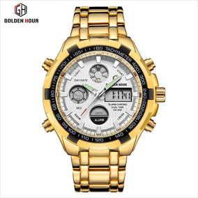 Relógio Unissex Bracelete Luxo Lançamento 2019