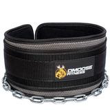 Dmoose Fitness Premium Dip Cinturón Con Cadena 36 Heavy D.. 49453918dbaa