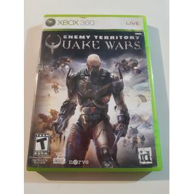 Quake Wars Enemy Territory Xbox 360 Original Mídia Física