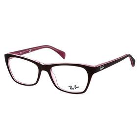 Armação Óculos Grau Ray Ban Rb6611 Rosa Strass Swarovski - Óculos no ... 68083d902b
