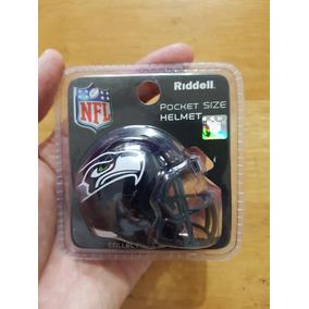 Casco Nfl Riddell Pocket Miniatura Seattle Seahawks Halcones d5336041bca