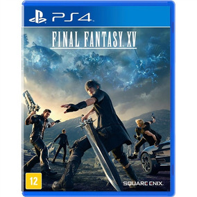 Final Fantasy Xv 15 + Case Metal Ps4 Mídia Física Português