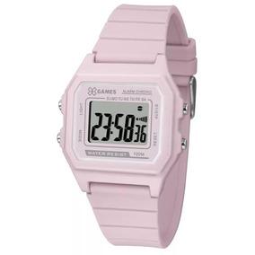 f25536a4237 Relógio Feminino Digital Esportivo Rosa X-games Xlppd026 Bxr