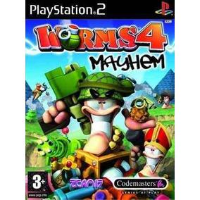 jogo worms 4 mayhem completo