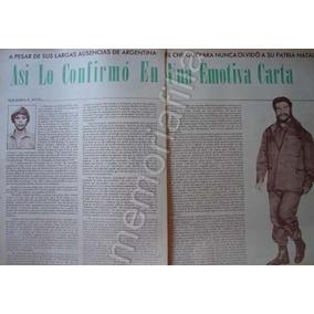 Reportaje Antiguo 1968 Antigua Carta Del Che Guevara 1968 3fe0349b793