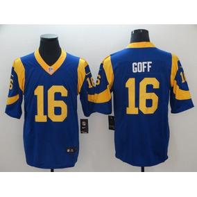 37ab4c577 Fantastico Jersey Rams Los Angeles Azul Goff 16