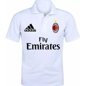Camiseta Polo Camisa Polo Milan 2018 Promoção f42241bba3f74