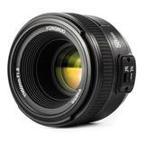 Lente Yongnuo 50mm F/1.8 Nikon Garantía Para Todos Modelos.