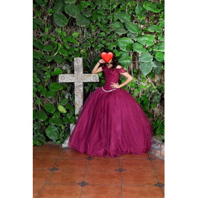 d718f6d5b Vestidos Color Vino 15 Años Usado en Mercado Libre México