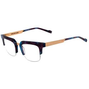 a2ec8cf2b240c 0evoke Volt 07 - Óculos De Grau G23 Blue Marble Temple Gold