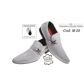 c771c2c56 Sapato Social Couro Masculino Italiano - Sapatos Sociais e Mocassins ...