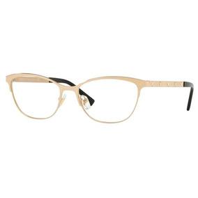 055e3ad10a002 Oculos Versace Dourado - Óculos no Mercado Livre Brasil