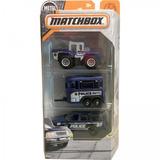 Matchbox Pack Com 3 - Police