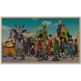 3 Posteres Dragon Ball - Novos
