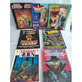 5 Hqs Graphic Novel Marvel X-men Homem Ferro Doutor Estranho