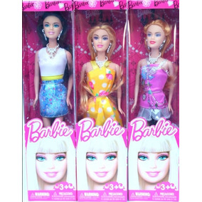Muñeca Barbie Fashion Nuevas Juguetes Niña Fabans