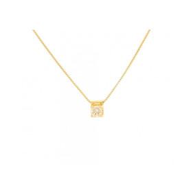 225d3901bed07 Pingente Ponto De Luz Em Ouro 18k 750 Com Diamante 20 Pontos - Joias ...