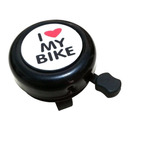Buzina Campainha Trim Trim De Metal I Love My Bike Cores