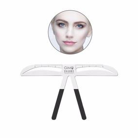 Eyebrow Stencils Balance Template Ruler, Three-point Positio