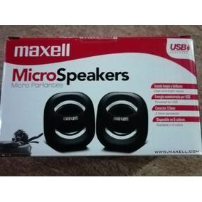 Cornetas Micro Parlantes Maxell Usb, Modelo Ss-120
