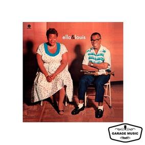 Vinilo Ella Fitzgerald & Louis Amstrong - Ella & Louis - Imp